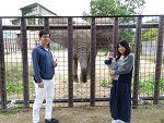 青海島の絶景や、秋吉台サファリの動物達に家族で癒されてきました♪